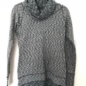 RBX Black/Gray Cowl Sweater